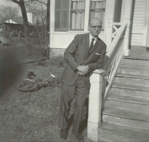 1959_05_03 Bill in Keeseville
